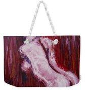 Red Curtains - Nudes Gallery Weekender Tote Bag