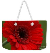 Red Daisy Weekender Tote Bag