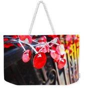 Red Decorations Weekender Tote Bag