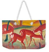Red Deer 1 Weekender Tote Bag