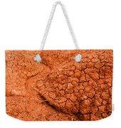 Red Desert Column Weekender Tote Bag