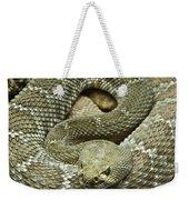 Red Diamond Rattlesnake 3 Weekender Tote Bag
