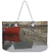 Red Dinghy  Weekender Tote Bag