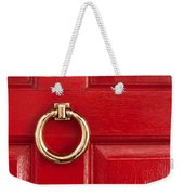 Red Door 01 Weekender Tote Bag