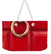 Red Door 02 Weekender Tote Bag