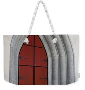 Red Door At Our Lady Of The Atonement Weekender Tote Bag