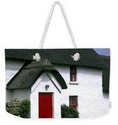 Red Door Thatched Roof Weekender Tote Bag