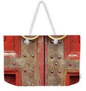 Red Doors 02 Weekender Tote Bag