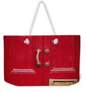 Red Doors Weekender Tote Bag