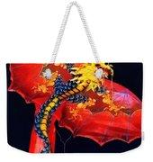 Red Dragon Kite Weekender Tote Bag
