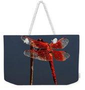 Red Dragon Weekender Tote Bag