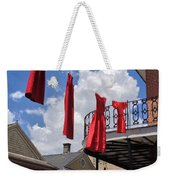 Red Dress Lineup  Weekender Tote Bag