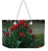 Red Dynasty Red Tulips Weekender Tote Bag