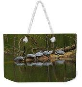 Red-eared Slider Turtles Weekender Tote Bag
