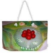 Red Eggs And Daisies Weekender Tote Bag