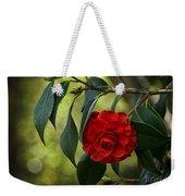 Red Elegance Weekender Tote Bag