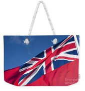Red Ensign Weekender Tote Bag