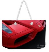Red Enzo Weekender Tote Bag