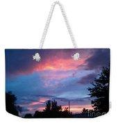 Red Evening Arizona Sky Weekender Tote Bag