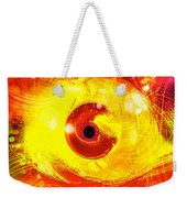 Red Eye Weekender Tote Bag