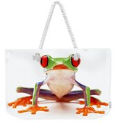 Red-eye Tree Frog 2 Weekender Tote Bag by Lanjee Chee