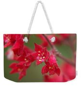 Red Fairy Trumpets Weekender Tote Bag