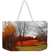 Red Field Autumn Weekender Tote Bag
