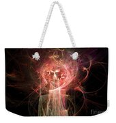 Red Fire Angels With Tower #2 Weekender Tote Bag