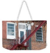 Red Fire Escape Usa I Weekender Tote Bag