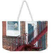 Red Fire Escape Usa II Weekender Tote Bag