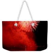 Red Fire Weekender Tote Bag