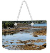 Red Flat At Low Tide Weekender Tote Bag