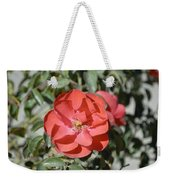 Red Flower II Weekender Tote Bag