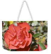 Red Flower IIi Weekender Tote Bag