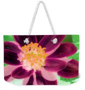 Red Flower - Photopower 256 Weekender Tote Bag