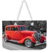 Red Ford 3d21740 Weekender Tote Bag