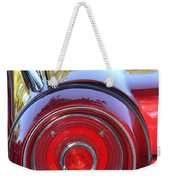 Red Ford Tailight Weekender Tote Bag