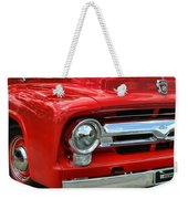 Red Ford Truck Weekender Tote Bag