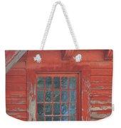 Red Gable Window Weekender Tote Bag