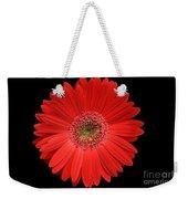 Red Gerber Daisy #2 Weekender Tote Bag