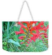 Red Gift Weekender Tote Bag