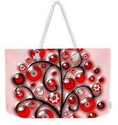 Red Glass Ornaments Weekender Tote Bag