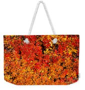 Red-golden Alpine Shrubs Weekender Tote Bag