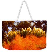 Red Grass Weekender Tote Bag