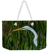 Red Green And White Weekender Tote Bag