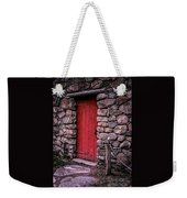 Red Grist Mill Door Weekender Tote Bag