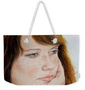 Red Hair And Freckled IIi Weekender Tote Bag
