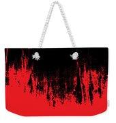 Red Halftone 1 Weekender Tote Bag