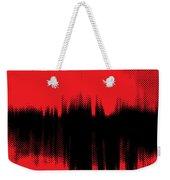 Red Halftone 2 Weekender Tote Bag