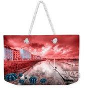 Red Harbouring  Weekender Tote Bag